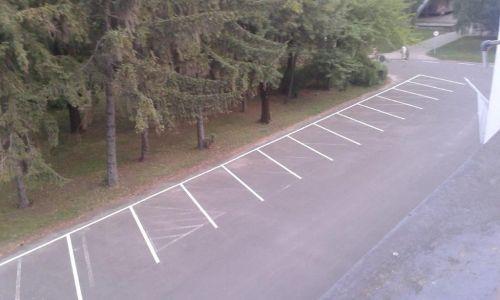 Parkoló festés