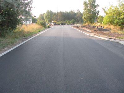 Aszfalt kopóréteg - külső út