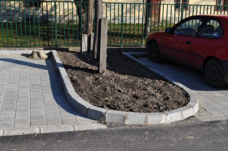 Térköves parkoló
